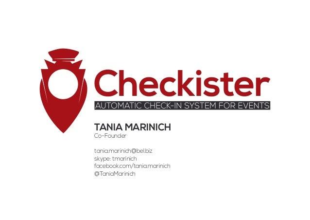 Checkister