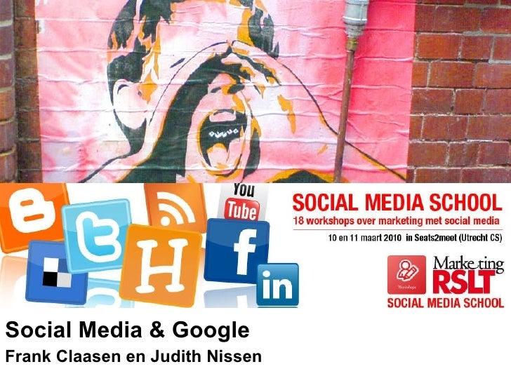 Checkit iProspect presentatie social media school (sms2010) social media en google