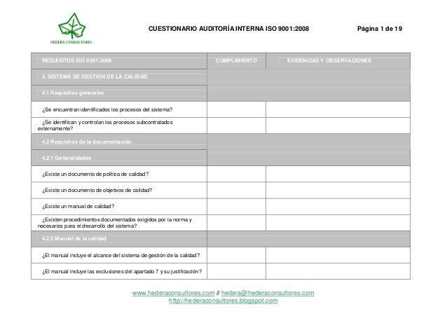 Check list cuestionario_auditoria