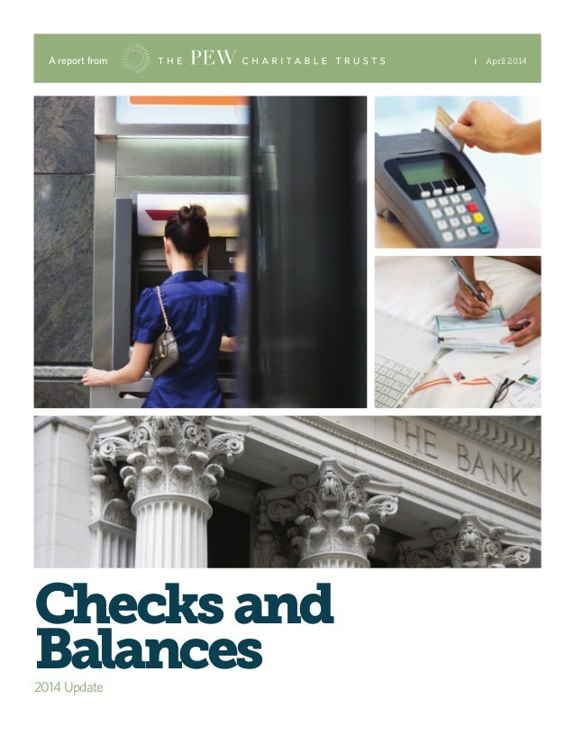 A report from April 2014 Checksand Balances2014 Update