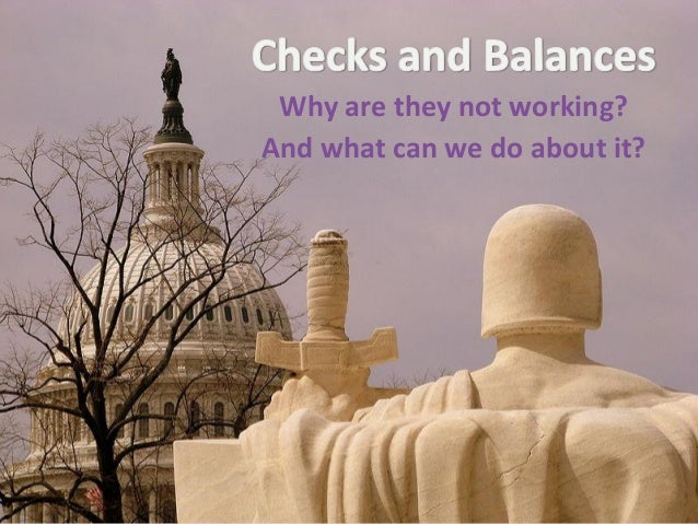 Checks and balances adapted tjh