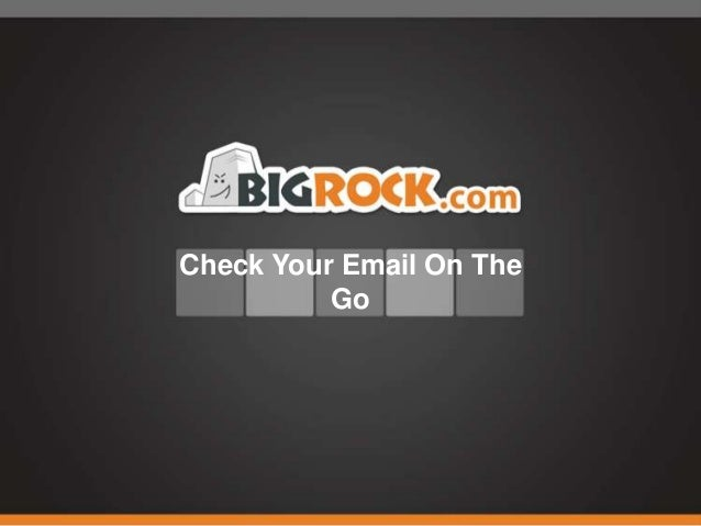 Check Your Email On The Go