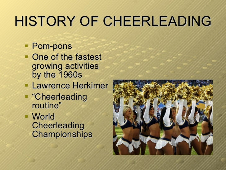 Cheerleading essay