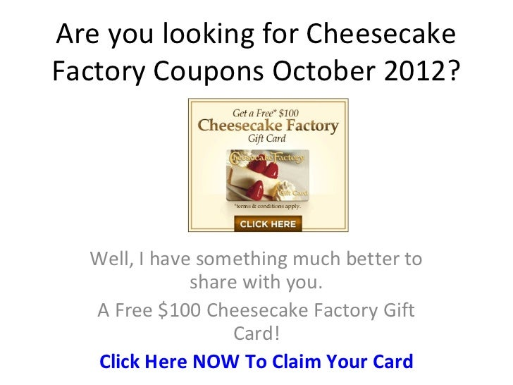 Coupon for cheesecake factory online Coupon popcap games