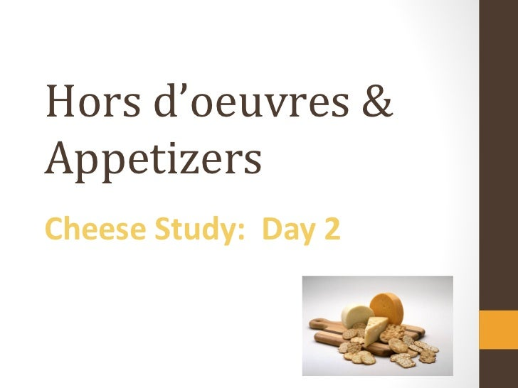 Cheese Unit Day 2 August 17 Revised
