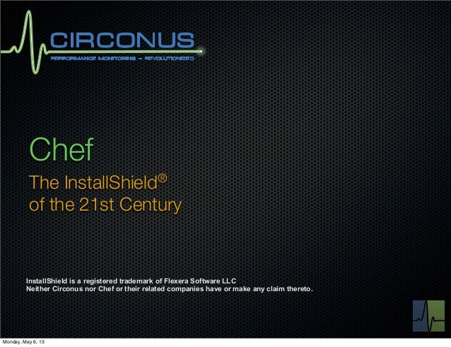 The InstallShield of the 21st Century – Theo Schlossnagle