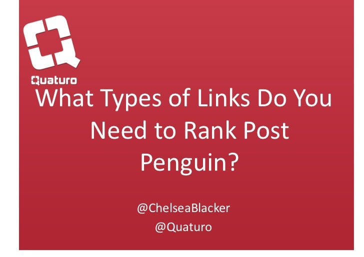 Types of Links to Acquire Post Penguin