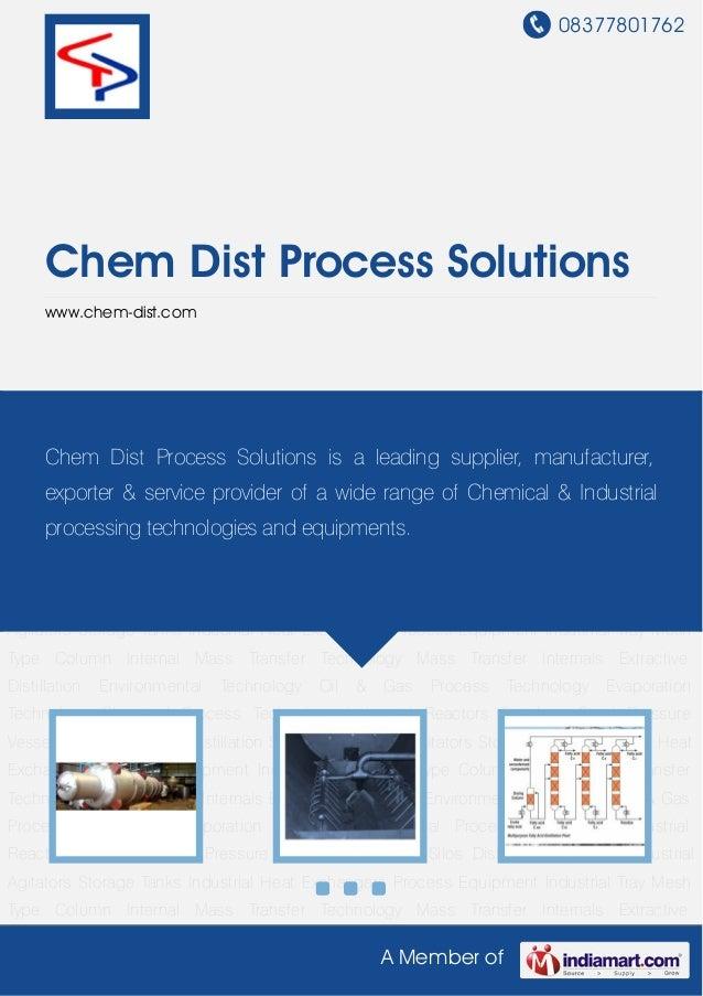 Mass Transfer Internals by Chem dist process solutions