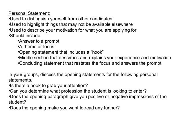 written personal statement for university Read these grad school personal statement  personal statements are often written  it is my sincere hope that a graduate education at gradschoolscom university.
