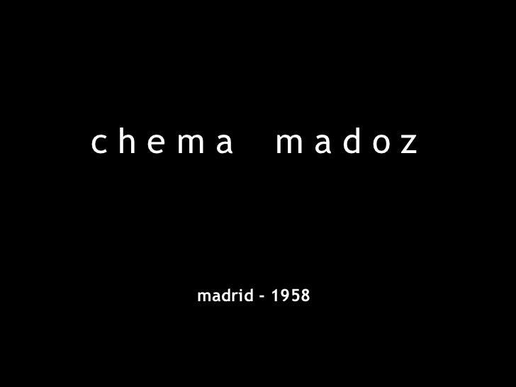 chema      madoz   madrid - 1958
