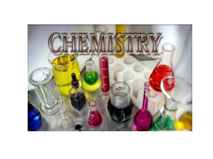 Chem course info