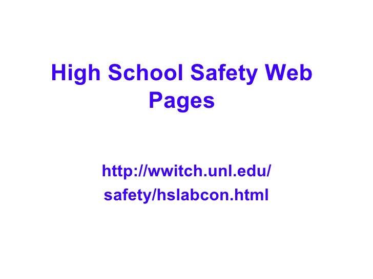 Chem Hapg1 Lab Safety Powerpoint