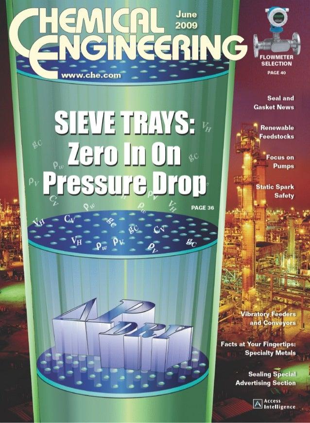 Sieve Trays: Zero In On Pressure Drop