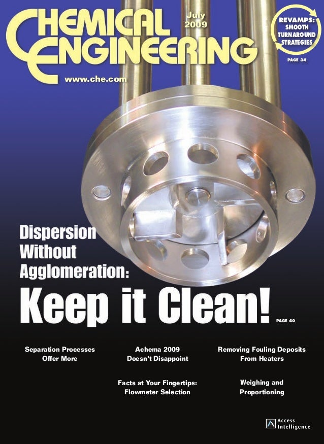 Dispersion Without Agglomeration: Keep it Clean!