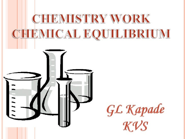 Equilibrium is a state in which there are noobservable changes as time goes by.When a chemical reaction has reached theequ...