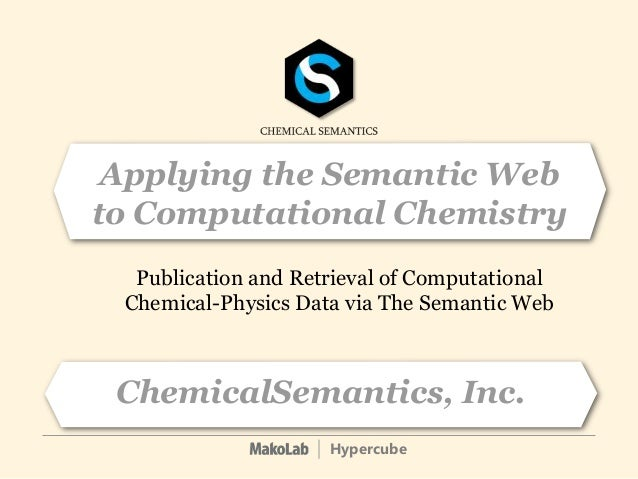 Chemical Semantics at Sopron CC Conference