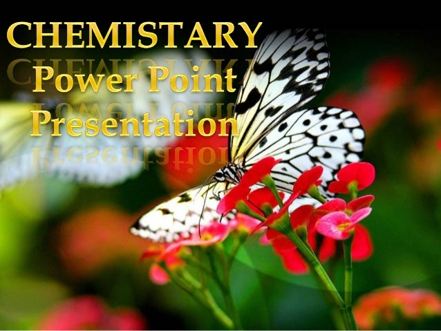 Chemistary ppt by group b