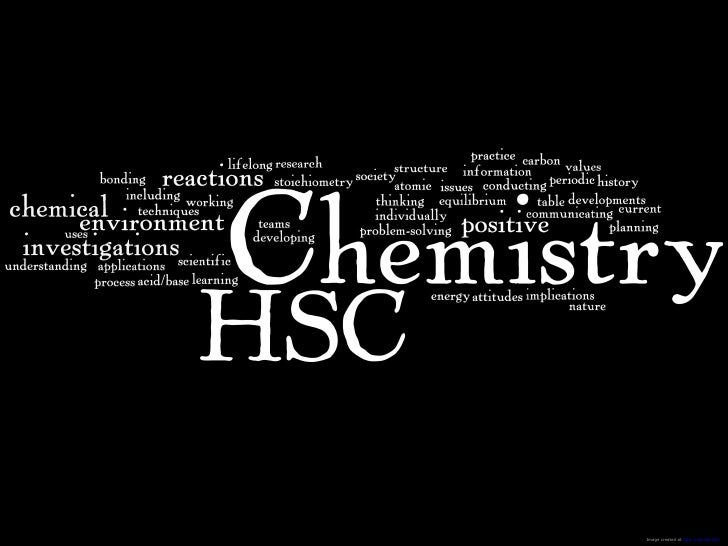 Chemistry Course Wordle Pages