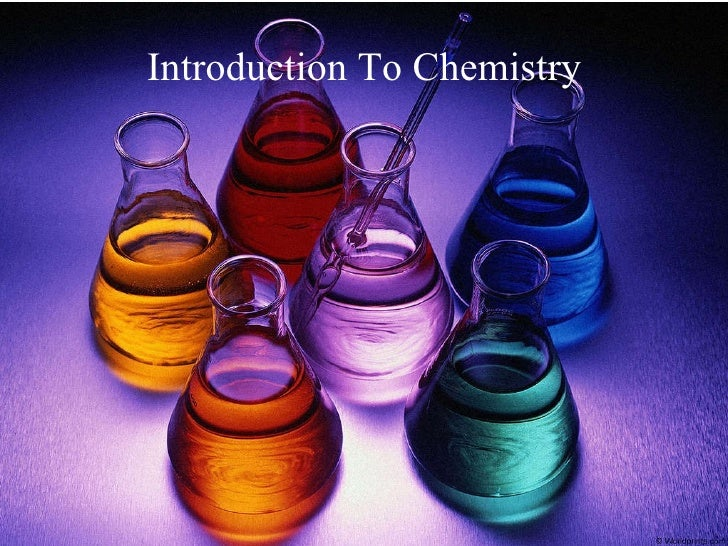Chemistry - Elements, Terminologies and More (Examville)