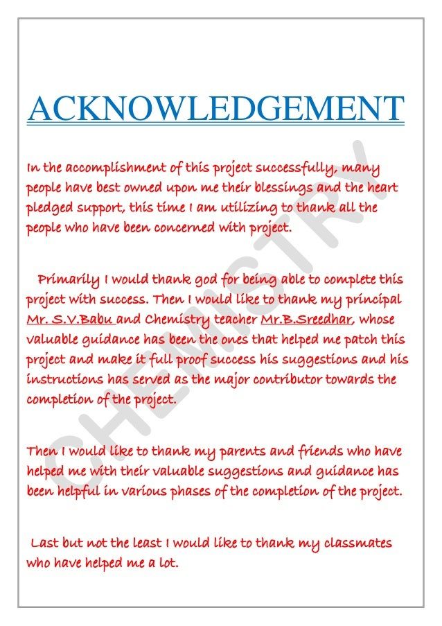 Acknowledgement letter in investigatory project annaapp acknowledgement letter in investigatory project signature of external examiner signature of chemistry teacher 3 altavistaventures