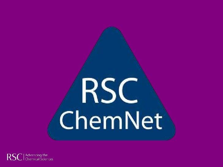 ChemNet Careers 2011-12