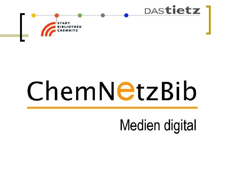 Chemnetzbib Webmontag