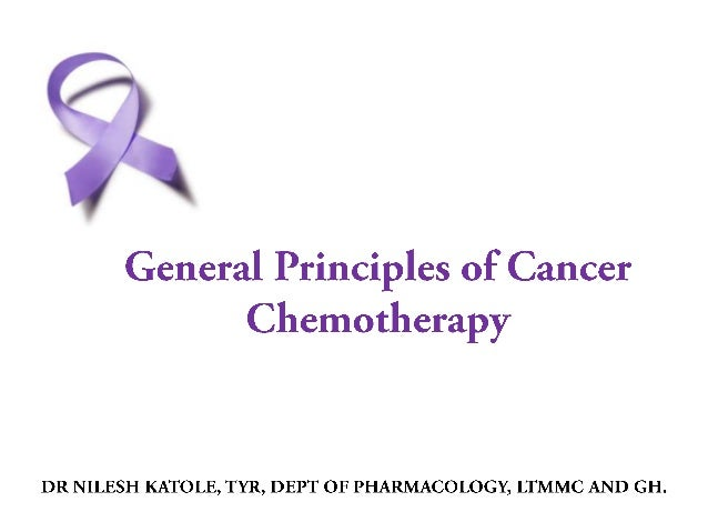 • German chemist Paul Ehrlich- Coined the term ''chemotherapy'' • Originally chemotherapy referred to treatment of disease...