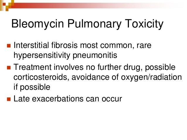 Chemotherapy Induced Lung Toxicity Dr Varun