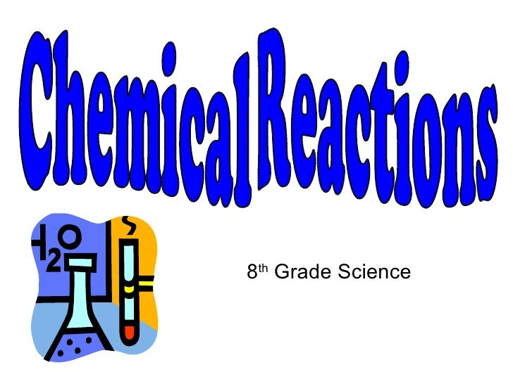 8 th  Grade Science Chemical Reactions