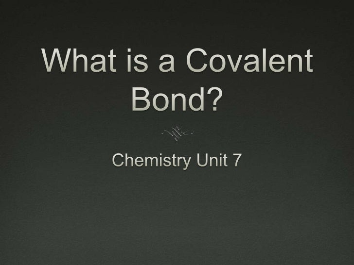 Chem unit 7 presentation
