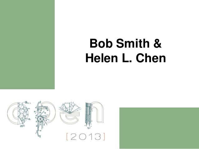Bob Smith &Helen L. Chen