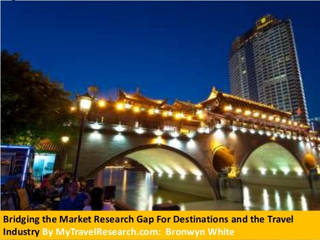Bridging the Market Research Gap For Destinations and the Travel Industry By MyTravelResearch.com: Bronwyn White