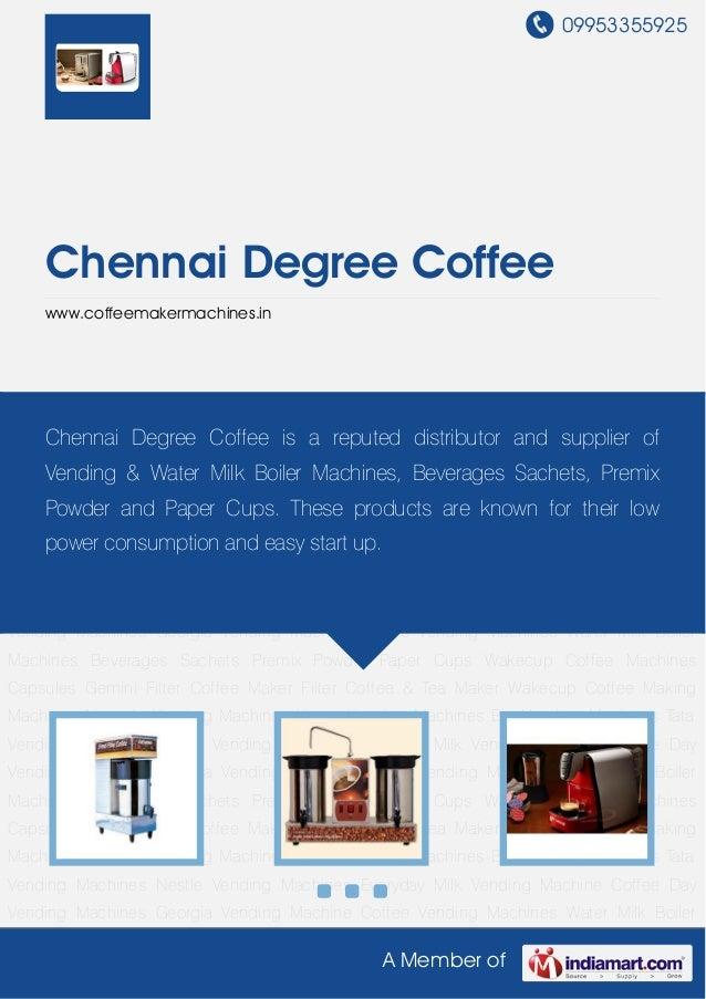 Gemini Filter Coffee Maker by Chennai degree coffee