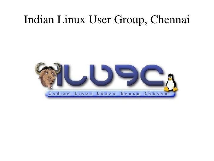 Chennai Linux User Group
