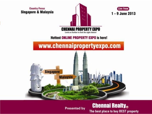 "About ExpoTHE CONCEPT: Chennai Realty is proud to present the first of its kind unique ""Online PropertyExpo"" exclusively f..."