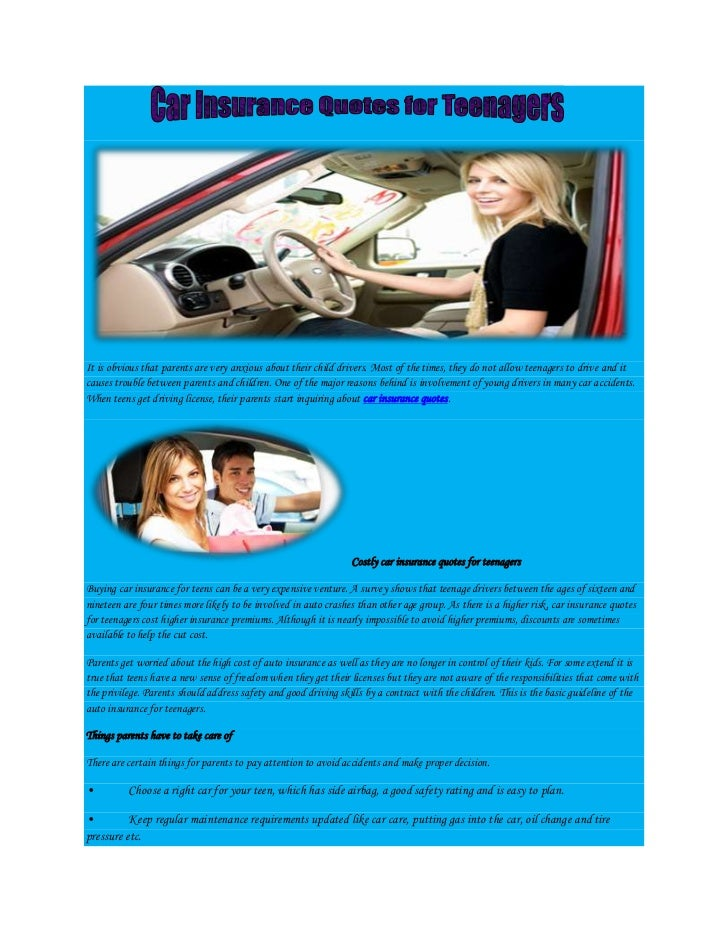 Cheap Car Insurance For Teens Cheapest Car Insurance Car Insurance