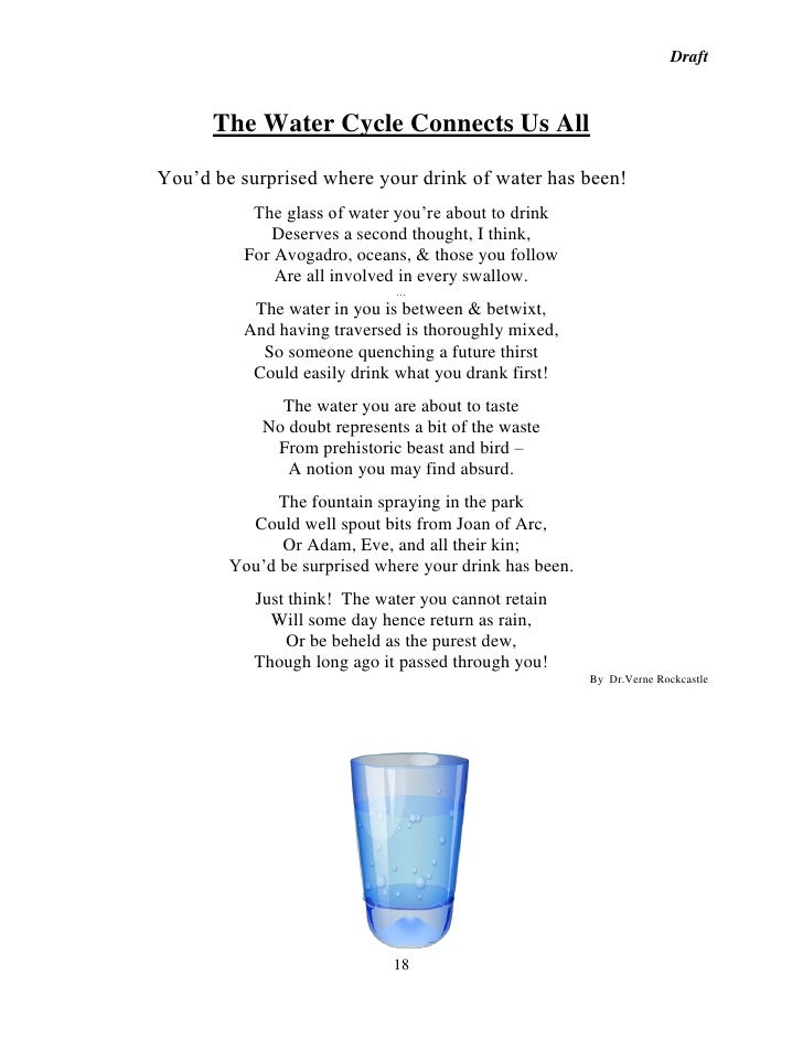 Essays On Water