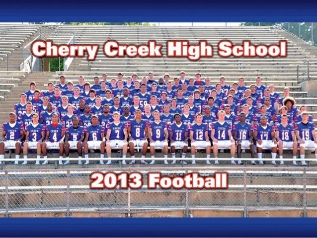 Cherry Creek Football  The start of something Great!