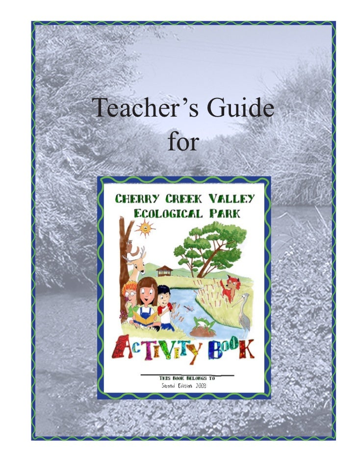 Teacher's Guide      for     Second Edition 2008