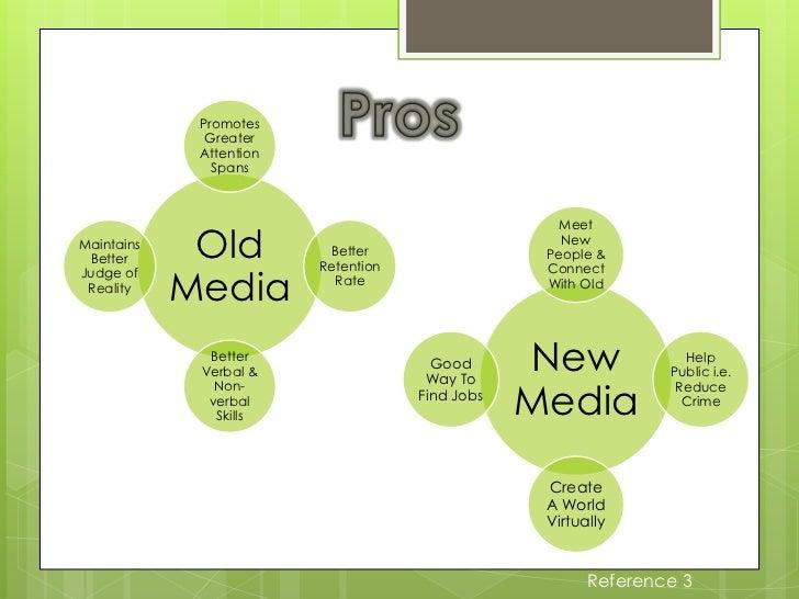 new media vs old media essays