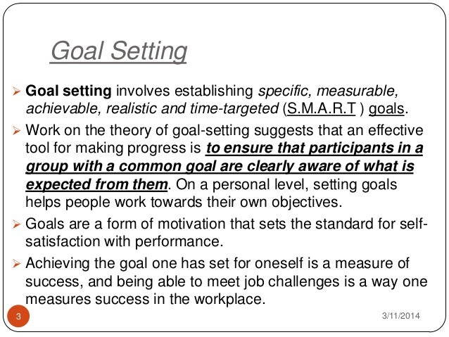 essays on goal setting theory Start writing remarkable essays with guidance  goal setting theory can explain motivation at  goal-setting theorys goal difficulty and specificity.
