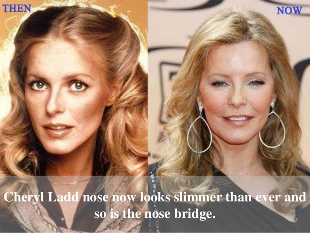Cheryl Ladd then and now