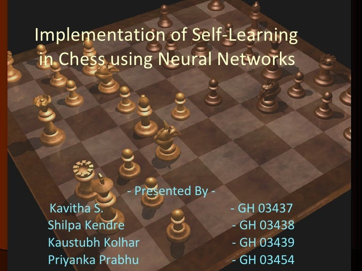 Chess end games using Neural Networks