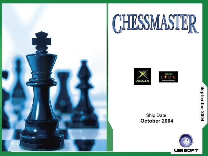 Chessmaster Product Presentation