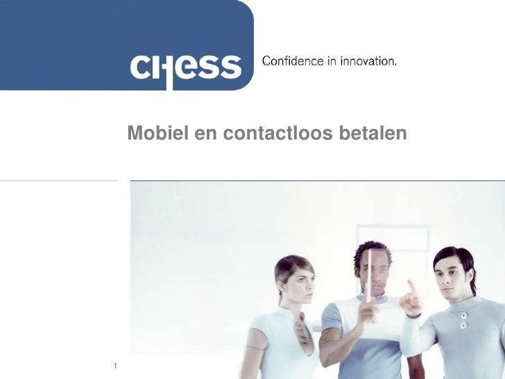 Mobiel en contactloos betalen     1