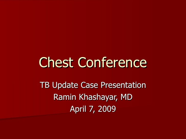 Chest Conference4 2009