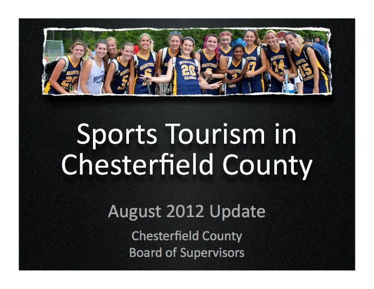Sports Tourism in Chesterfield County Virginia