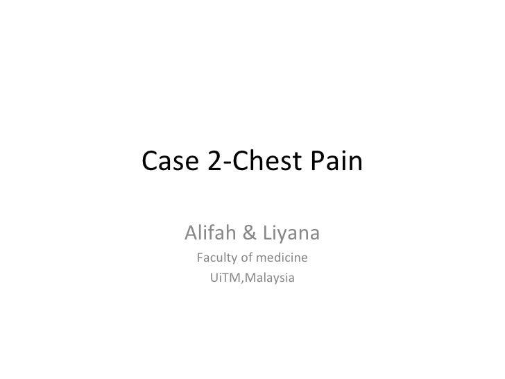 Chest Pain-case 2