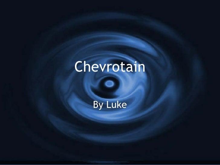 Chevrotain By Luke