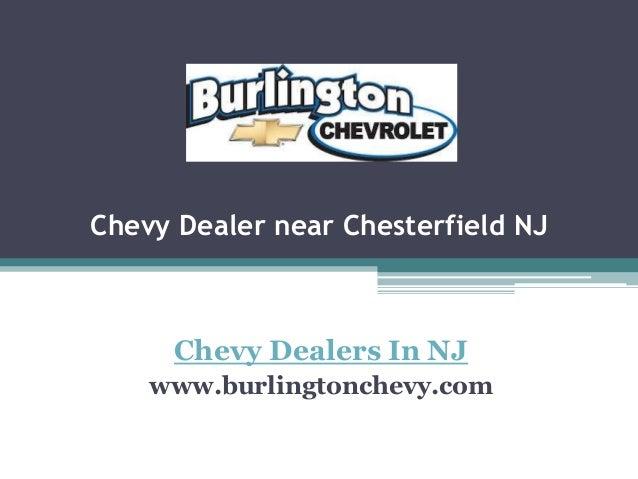 Chevy Dealer near Chesterfield NJ